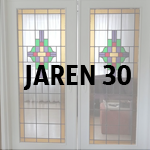 Jaren 30 glas-in-lood atelier De Glazen Zee